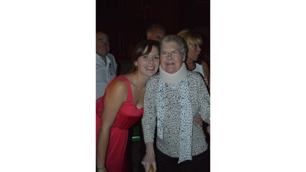 Sarah and her mum